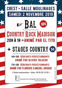 Stages et Bal Country