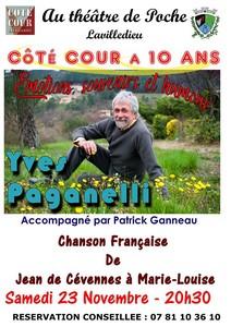 10 ans de Côté Cour avec Yves Paganelli accompagné par Patrick Ganneau