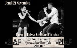 Brenda Boissy & Mikael Ferreira (Variétés Françaises et Internationales)