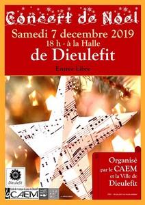 Concert de Noël avec Les Elèves et Atelier du CAEM