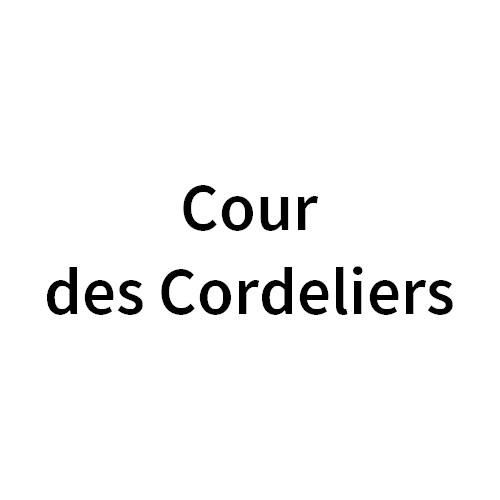 Cour des Cordeliers