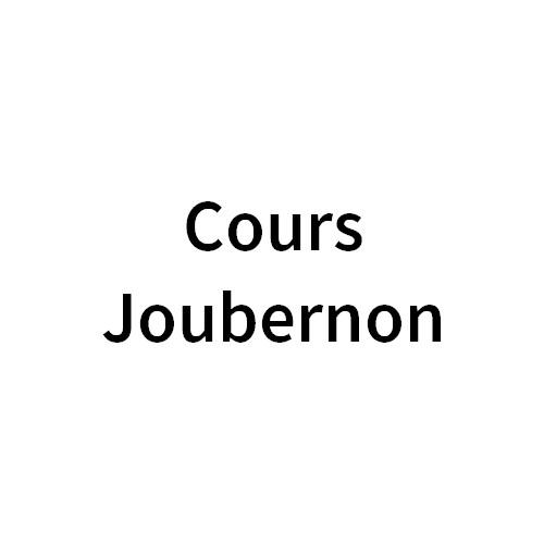 Cours Joubernon