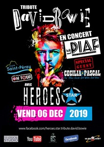 Heroes Star tribute David Bowie + Cécilia Pascal