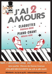 J'ai 2 amours (Claquettes-Piano-Chant) + Atelier