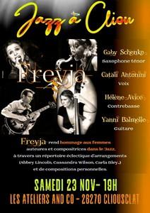 Jazz à Cliou avec Freyja