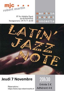 Latin Jazz Note
