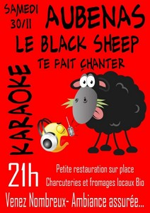 Le Black Sheep te fait chanter