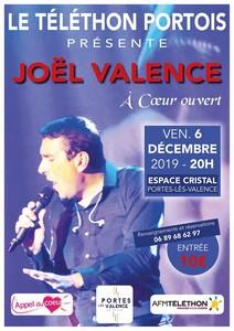 Le Téléthon Portois avec Joël Valence (Chansons Françaises et Internationales)