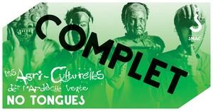 Les Agri-Culturelles avec No Tongues (World Revisité)