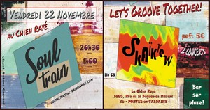 Let's Groove Together ! avec Soul Train + SkaïKrew