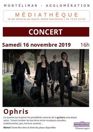 Ophris (Quatuor de Guitares)