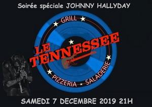 Repas / Concert Hommage à Johnny Hallyday avec Aurélien Luckyday