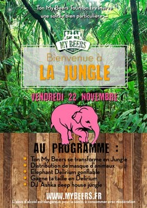 Soirée Jungle & Délirium avec DJ Ashka Players