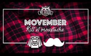 Soirée Movember avec DJ Alex Fantaisie