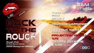 Back to the Rough avec Cora M. + Missily + Delphine Lafrange + Les Yeux Noirs