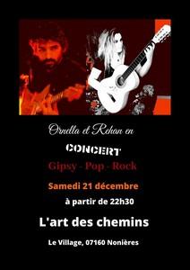 Ornella et Rehan (Gipsy / Pop / Rock)