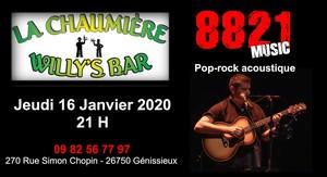 8821 (Pop Rock Acoustique)