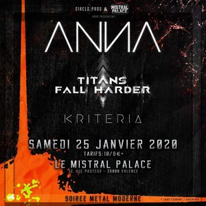 Anna + Titans Fall Harder + Kriteria
