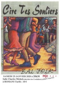 Bal Folk avec Cire tes Souliers