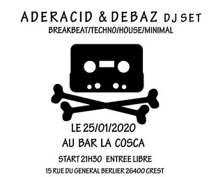 Electro party avec Aderacid Connect + Debaz