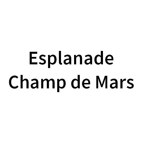 Esplanade Champ de Mars