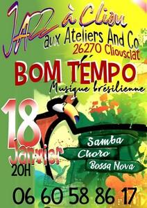 Jazz à Cliou avec Bom Tempo (Samba / Choro / Bossa Nova)