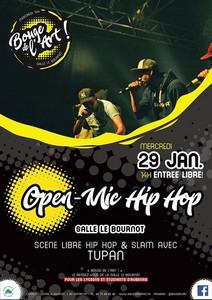 Open Mic hip-hop avec Tupan