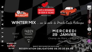 Winter Mix avec Fabien Koufach + Warm Up DJ Oliiv' + DJ SP