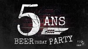 5 ans de La FABrique avec K'ptain Kirk (Du Rock mais pas que...) + DJ Brewer