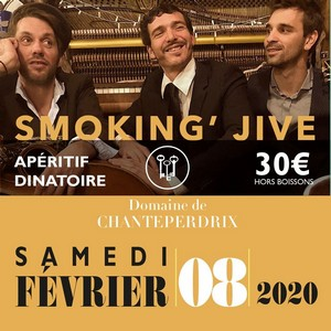 Apéro Dinatoire avec Smoking' Jive + Dj Matt