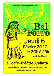 Bal Forro avec Forro des Petits Pas