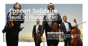 Concert Solidaire au Profit des Sinistrés du Teil