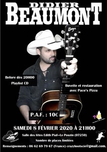 Didier Beaumont (Country / Rock) & Bal Country