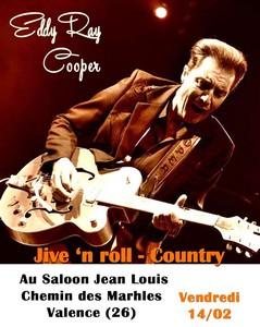 Eddy Ray Cooper (Rock'N'Roll / Juke Joint Swing / Country)