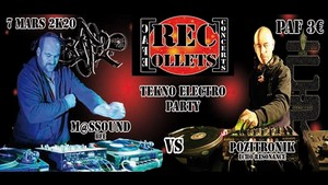 Electro Tekno Party avec Pozitronik VS M@ssound