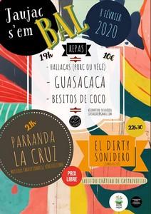 Jaujac S'embal - Musiques Latines avec Parranda La Cruz + El Dirty Sonidero
