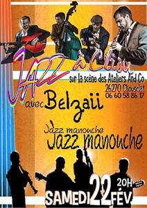 Jazz à Cliou avec Belzaii (Jazz Manouche)