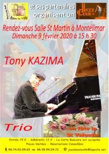 Jazz dans la Ville avec Tony Kazima Trio (Jazz)