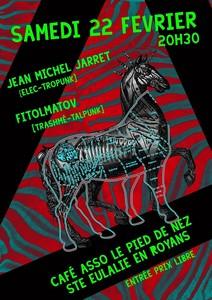 Jean-Michel Jarret + Fitolmatov