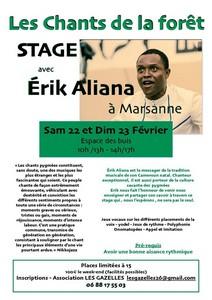 LES Chants De La FORÊT avec Erik Aliana
