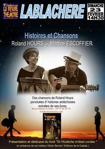 Martine Escoffier et Roland Hours (Histoire & Chanson)