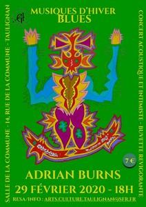 Musiques d'Hiver avec Adrian Byron Burns (Blues)