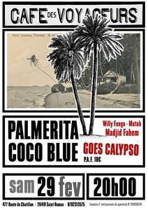 Palmerita Coco Blue (Mento et Calypso)
