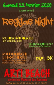 Reggae Night avec Djadja Luc + Cristel Kora
