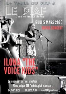 Repas Concert avec Ilona