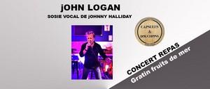 Repas Concert avec John Logan chante Johnny