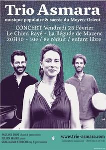 Trio Asmara (Musique Populaire et Sacrée du Moyen Orient)