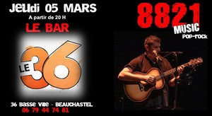 8821 (Pop Rock Acoustique)