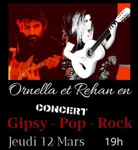 Apero Concert avec Duo Rehan et Ornella (Gipsy / Pop / Rock)