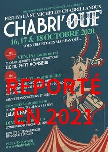 REPORTÉ EN 2021                       1er Festival Chabri'Ouf